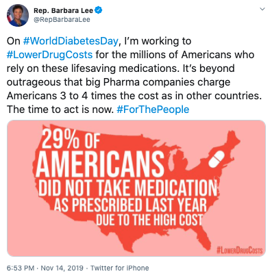 Barbara Lee Tweet